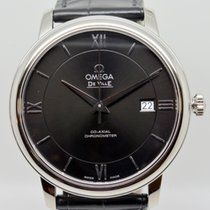 Omega De Ville Prestige Acier 39.5mm Noir Romain France, Paris