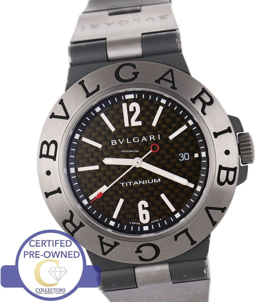 aedbefb76ce Bulgari Titanium watches - all prices for Bulgari Titanium watches on  Chrono24