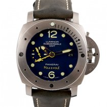 Panerai 47mm Automatic pre-owned Special Editions Blue