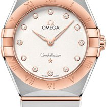 Omega 131.20.28.60.52.001 Gold/Steel 2021 Constellation 28mm new United States of America, New York, Airmont
