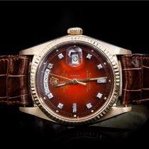 Rolex Day-Date 36 Yellow gold 36mm No numerals UAE, milano
