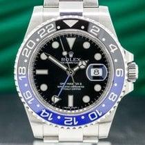 Rolex 116710BLNR Steel 2014 GMT-Master II 40mm pre-owned United States of America, Massachusetts, Boston