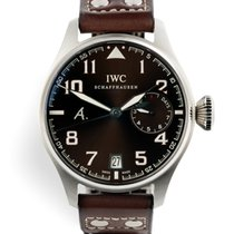 IWC pre-owned Automatic 46mm Brown 6 ATM