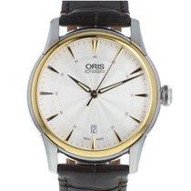 Oris Artelier Date 01 733 7670 4351-071 21 73FC new