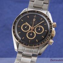 Omega Speedmaster Professional Moonwatch Χρυσός / Ατσάλι 42mm Μαύρο