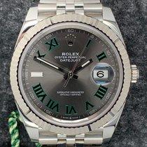 Rolex Datejust Steel Blue No numerals