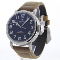 Zenith Pilot Type 20 Extra Special pre-owned 45mm Leather
