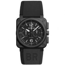 Bell & Ross BR0394-BL-CE BR 03-94 Chronographe 42mm new United States of America, Pennsylvania, Holland