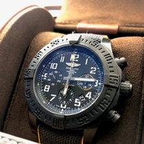 Breitling Avenger Hurricane Углерод 45mm Чёрный Aрабские