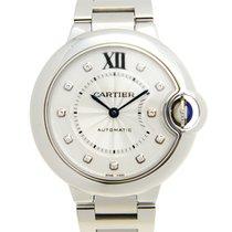 Cartier Ballon Bleu 33mm WE902074 new