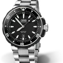 Oris ProDiver Date new Automatic Watch with original box and original papers 01 733 7682 7154-07 8 26 75 PEB