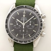 Omega Speedmaster Professional Moonwatch gebraucht 42mm Chronograph Leder