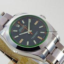 Rolex Milgauss 116400 GV unworn LC 100 first series Box and...