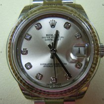 Rolex Datejust, Ref. 178274 - silber Diamant Zifferblatt/Oyste...