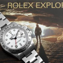 Rolex 40mm Automatic 2005 pre-owned Explorer II White