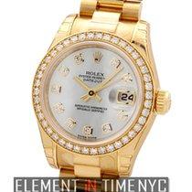Rolex Datejust Lady President Diamond Bezel & MOP Diamond Dial