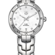 TAG Heuer Link Lady WAT2315.BA0956 - TAGHEUER WITHE MOTHER OF PEARL DIAL neu