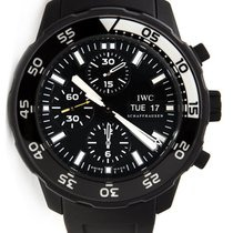 IWC Aquatimer Chronograph Steel 44mm Black No numerals United States of America, New York, Greenvale