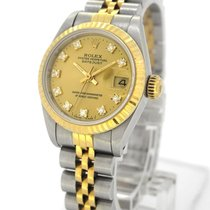 Rolex Oyster Perpetual Datejust 18K Gold/SS 69173G, Orig....