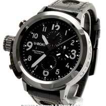 U-Boat Flightdeck 50 Black Ceramic Shinny