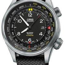 Oris 73377054164LS Acier Big Crown ProPilot Altimeter nouveau