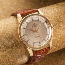Omega SEAMASTER  vintage 18 ct gold dress watch