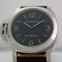 Panerai Luminor Base nieuw 2009 Handopwind Horloge met originele doos en originele papieren PAM 00219