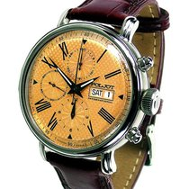 Poljot Steel 43mm Automatic 7750.1940712 new