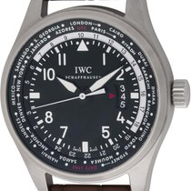 IWC : Pilot's World Timer :  IW326201 :  Stainless Steel