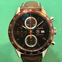 豪雅 (TAG Heuer) CV2013 Carrera Chronograph SS Brown Dial with...