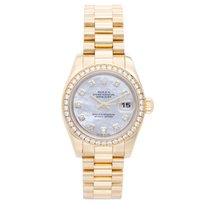 Rolex Ladies President 18k Yellow Gold Watch 179138