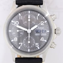Sinn 356 Steel 38.5mm Grey Arabic numerals