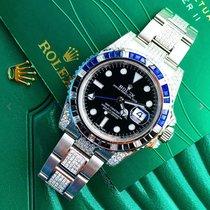 Rolex GMT-Master II Custom diamonds