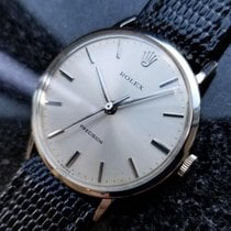 Rolex Vintage 1975 Precision Manual 34.110 Stainless Swiss...