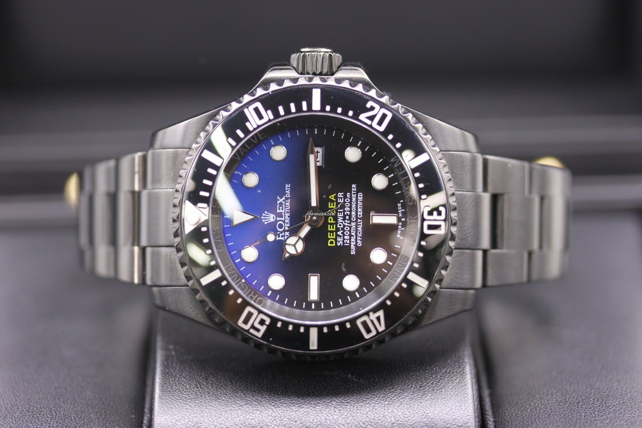 ff7def19e98 Rolex Sea-Dweller Deepsea PVD-DLC Custom for $10,995 for sale from a  Trusted Seller on Chrono24