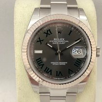 Rolex Datejust 126334 Slate Roman Dial / 41mm ( New )