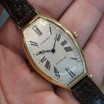 Tiffany Yellow gold 27mm Manual winding pre-owned