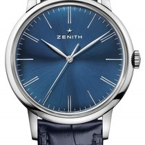 Zenith Elite 6150 03.2272.6150/51.C700 ZENITH ELITE CLASSIC blu 42mm new