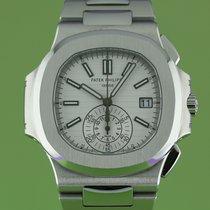 Patek Philippe Nautilus White Dial Chronograph 2012