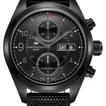Hamilton Khaki Field Auto Chrono / orologio uomo / quadrante...