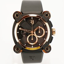 Romain Jerome Aur/Otel 46mm Atomat RJ.M.CH.IN.004 nou