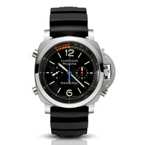Panerai Luminor 1950 Regatta 3 Days Chrono Flyback Titanium 47mm Black Arabic numerals United States of America, Florida, North Miami Beach