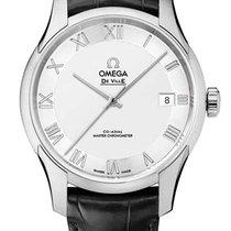 Omega De Ville Hour Vision Acero Plata