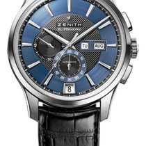 Zenith El Primero Winsor Annual Calendar Steel 42mm Blue United States of America, New Jersey, Jersey City
