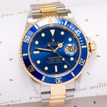 Rolex Submariner Gold/Steel 40mm United Kingdom, Macclesfield