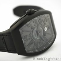 Franck Muller Titanium Automatic Black Roman numerals 44mm new Vanguard