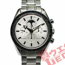 Omega Speedmaster Professional Moonwatch Moonphase Gold/Steel 42mm Silver