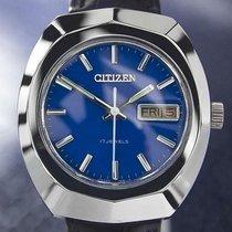 Citizen Stahl 37mm Handaufzug gebraucht