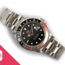 Rolex 16760 Steel 1985 GMT-Master II 40mm pre-owned