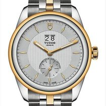 Tudor Glamour Double Date 57103-0001 new